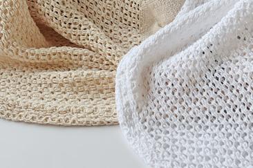 Barker Textile コットンブランケット ラージ