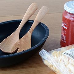 Bread and Rice ブレッドアンドライス リムドットオーバルボウル