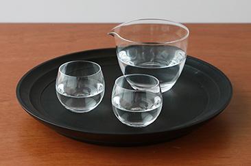 松徳硝子 丸型酒器