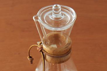 CHEMEX ケメックス コーヒーメーカー用ガラス蓋
