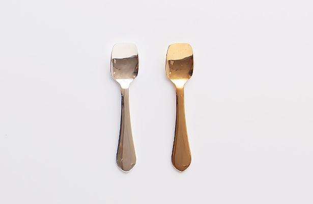 純銅アイスクリームスプーン