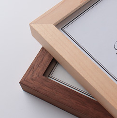 木製のフレーム サービスサイズ
