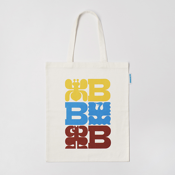 BBB 30th トートバッグ ロゴ
