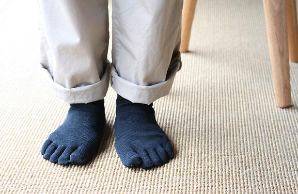 SASAWASHI 5本指靴下
