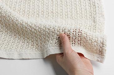 Barker Textile コットンブランケット スモール