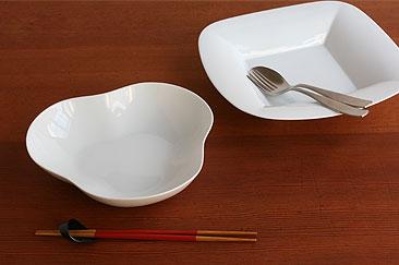SOBOKAIの白い食器