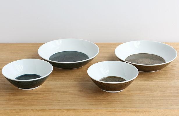 白山陶器 麻の糸シリーズ シリアルボウル/フリーディッシュ