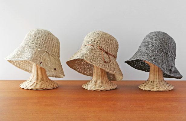 SASAWASHI 手編み帽子