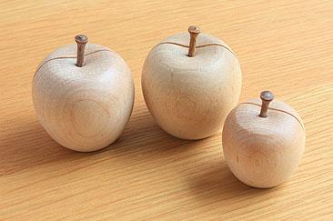 りんごのカードホルダー