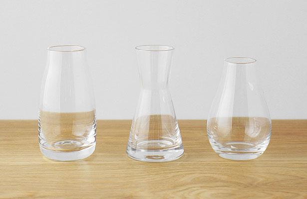 ガラスのフラワーベース ミニサイズ