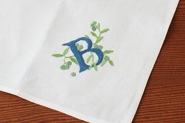 オリジナル刺繍ハンカチ・ミニバッグ