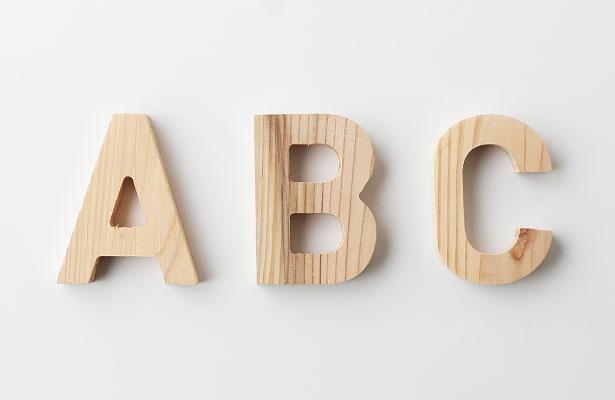 KINOKOTOBA アルファベット