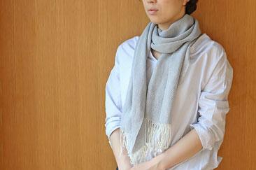 SASAWASHI シルク和紙ストール