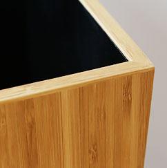 竹の雑貨 Teori ダストボックス