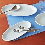 白いオーバル皿