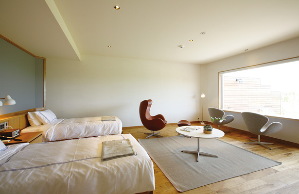 bbbhaus宿泊室内
