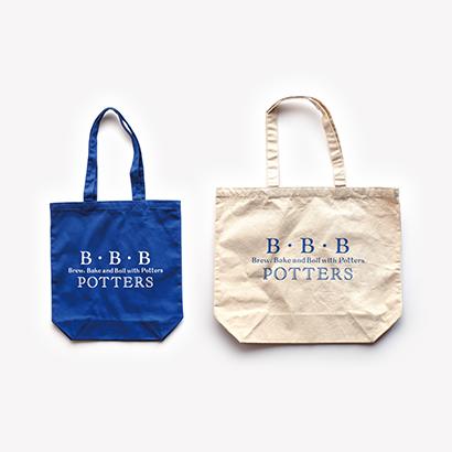 B・B・B POTTERS ロゴトートバッグ
